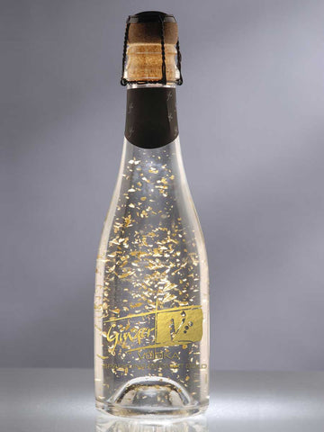 Sparkling Ginger Vodka with edible 22 carat gold flakes - 200ml