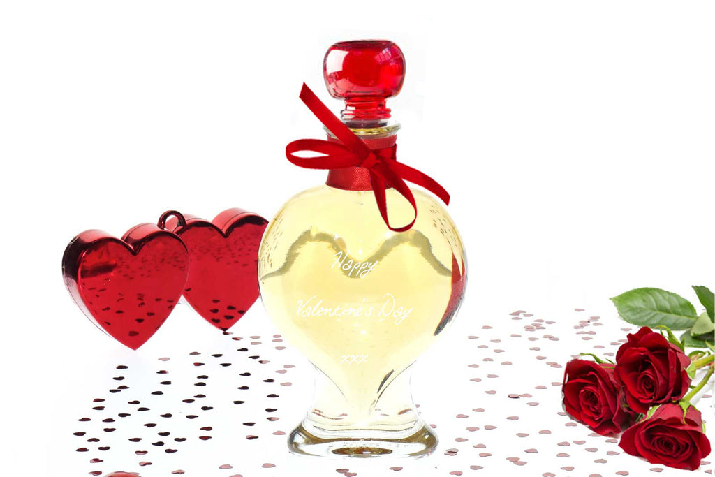 Heart Decanter 200ml with Islay Single Malt Scotch CAOLILA 7Y - 43%