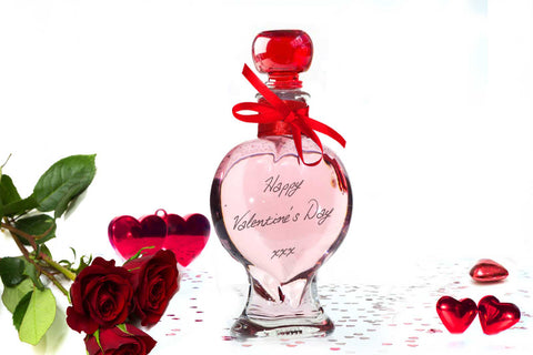Heart Decanter 200ml with Pink Vodka - 39%