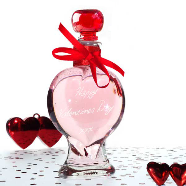 Heart Decanter 200ml with Turkish Delight Gin 25%