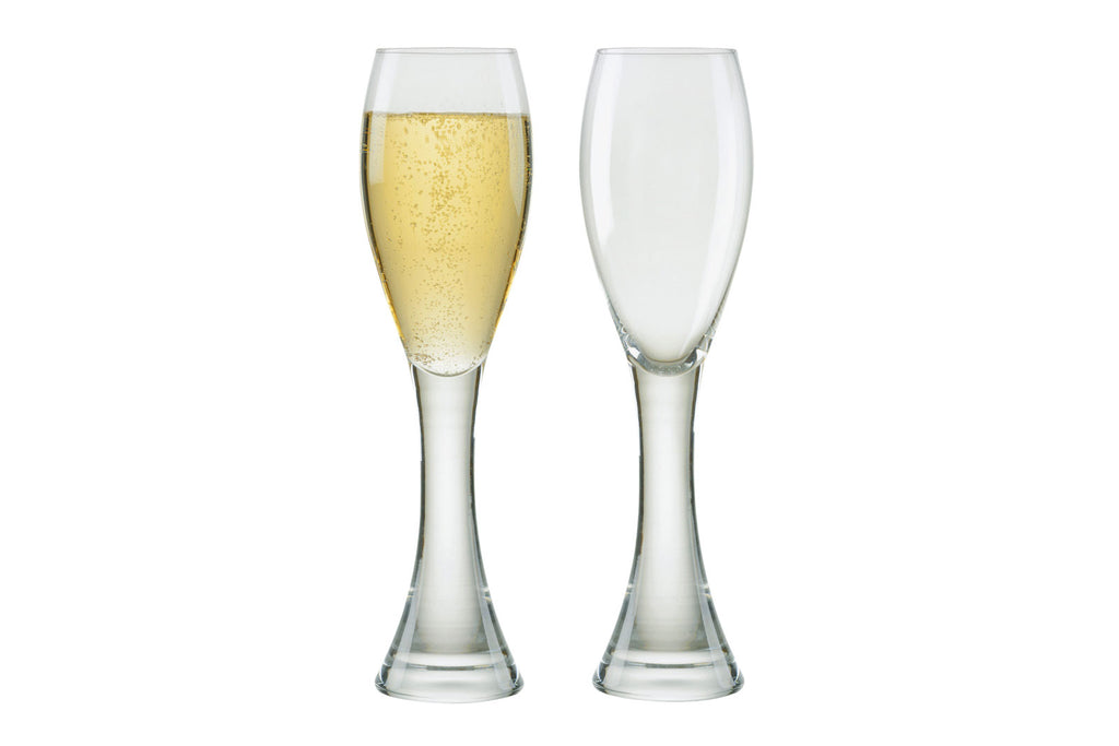 Manhattan Champagne Flutes - Set of 2