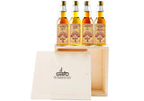 Miniature Brandy Gift Set ( Pack of 4 x 40ml )