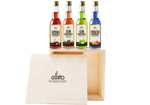 Miniature Cocktail Gift Set ( Pack of 4 x 40ml )