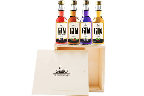 Miniature Gin Gift Set ( Pack of 4 x 40ml )