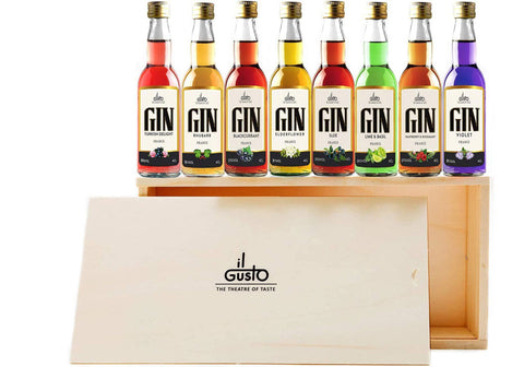 Miniature Gin Gift Set ( Pack of 8 x 40ml )