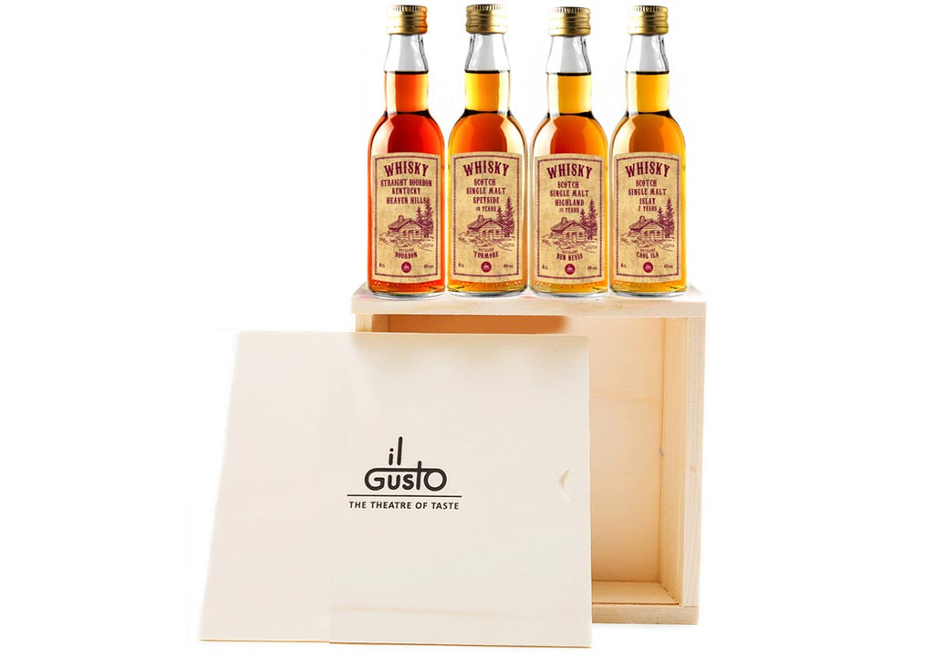 Miniature Whisky Gift Set ( Pack of 4 x 40ml )