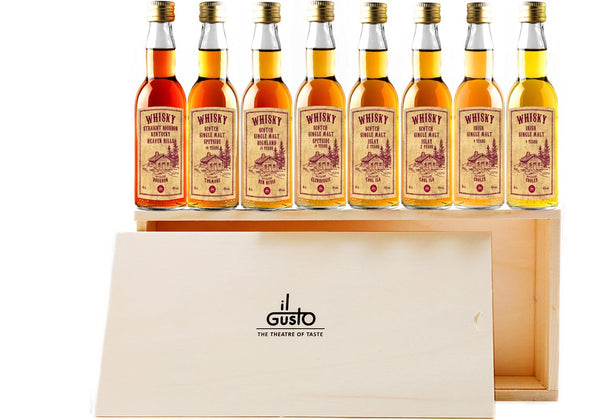 Miniature Whisky Gift Set ( Pack of 8 x 40ml )