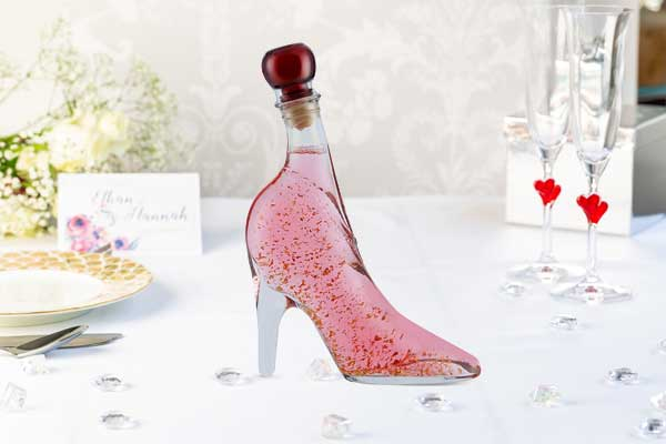 Pink Vodka Gold in Lady Shoe 350ml