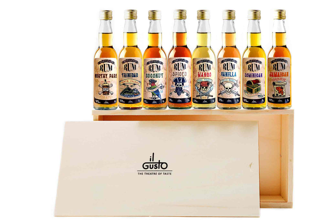 Miniature Rum Gift Set ( Pack of 8 x 40ml )