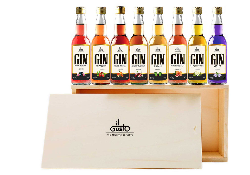 Miniature Summer Gin Gift Set ( Pack of 8 x 40ml )
