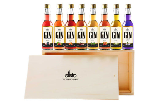Miniature Limited Edition Gin Gift Set ( Pack of 8 x 40ml )
