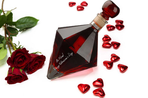 Valentine's Day Gift Diamond with Sour Cherry Vodka