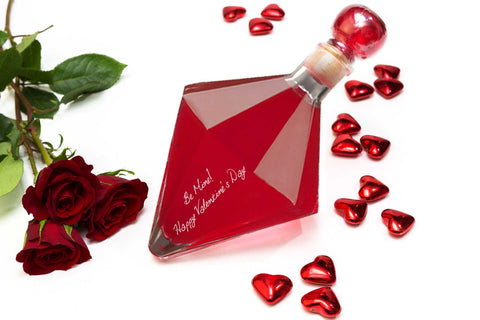Valentine's Day Gift Diamond with Blood Orange Vodka