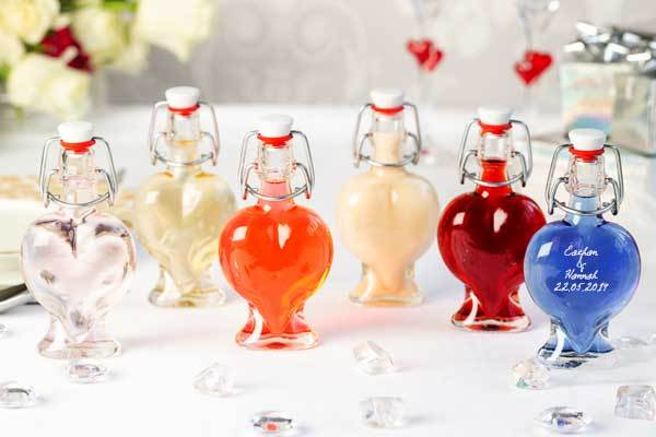 Wedding Favours Heart 50ml