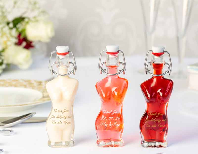 IL Gusto wedding favours - eve bottle