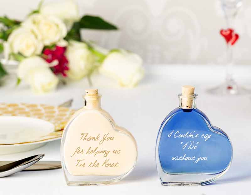 IL Gusto wedding favours - passion heart