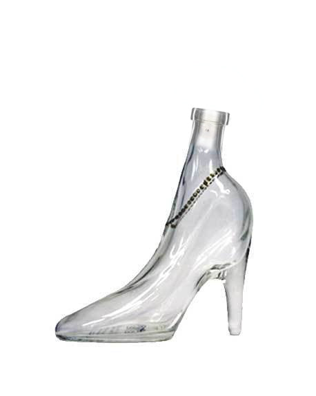 ilgusto glass lady shoe bottle