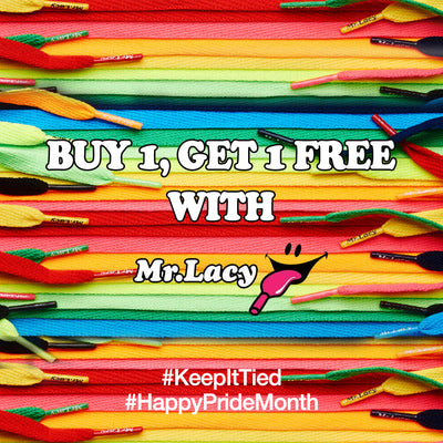 BUY 1, GET 1 FREE With Mr. Lacy This June!