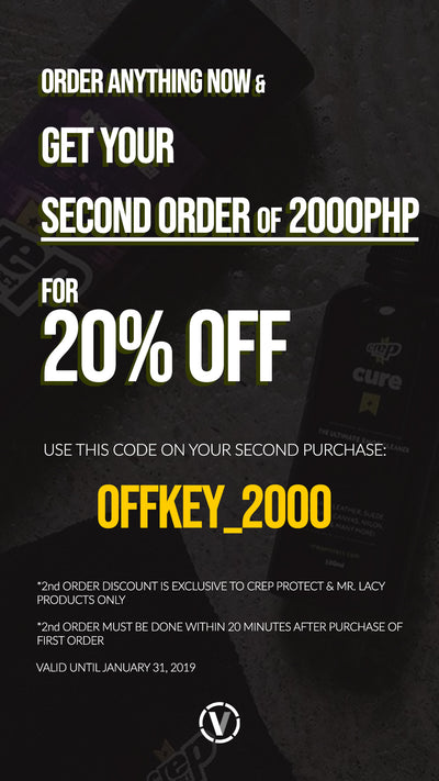 GET 20% OFF ON YOUR SECOND PURCHASE!