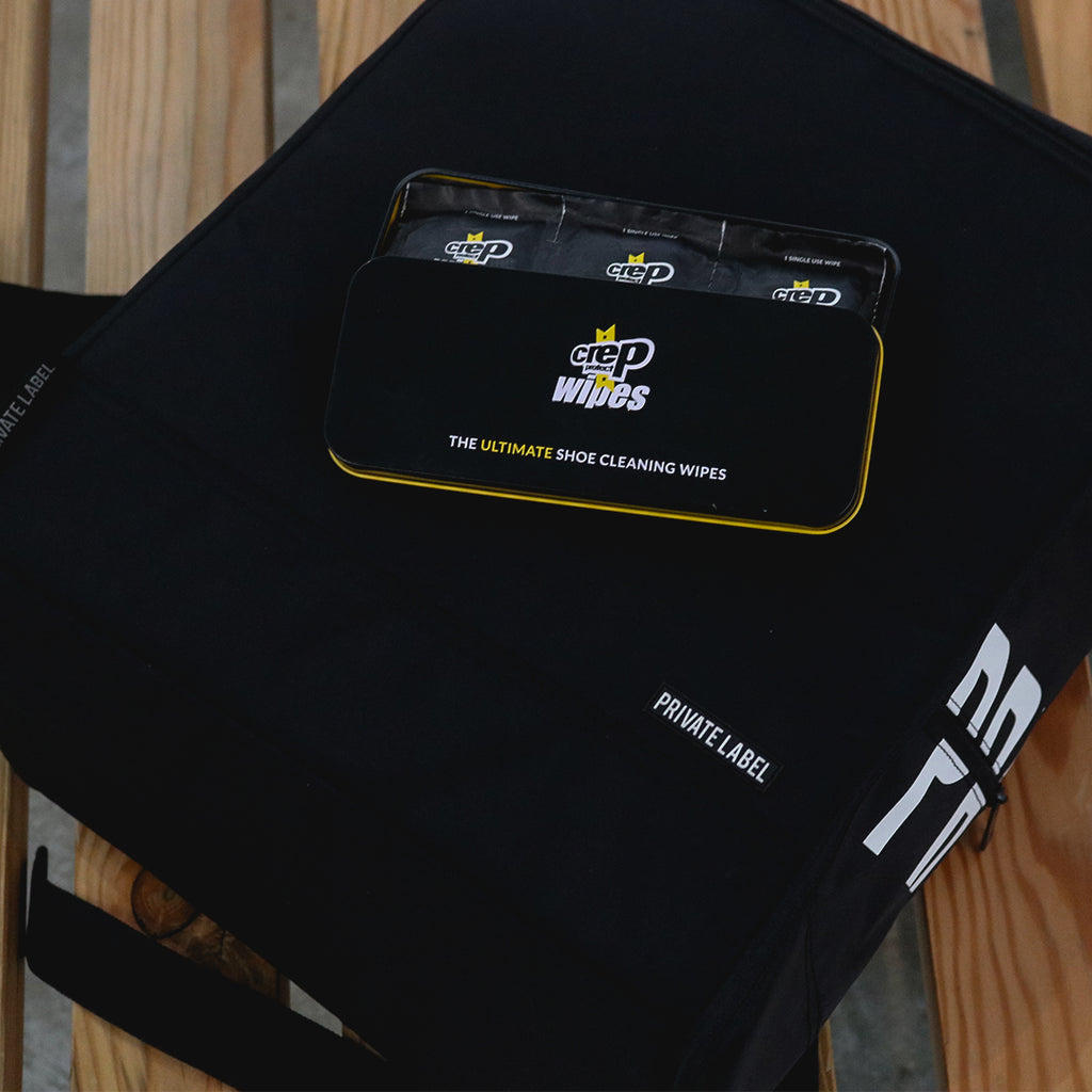 Private Label Backpack with Crep Protect Wipes