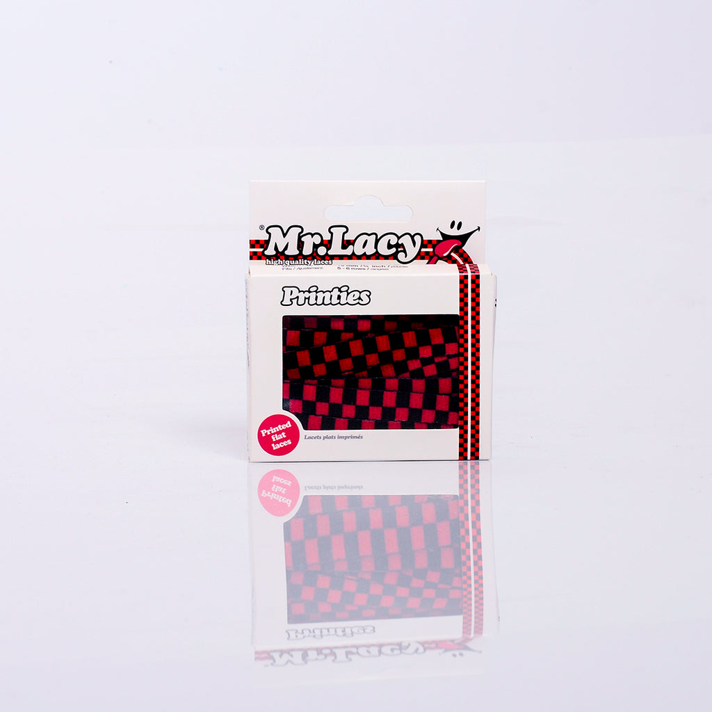 Mr. Lacy Printies Red/Black Checkered