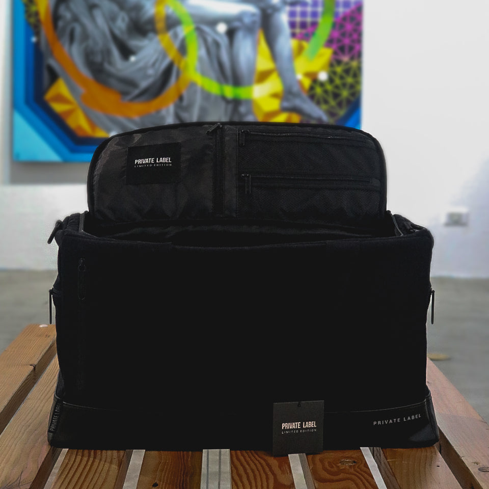 Private Label NYC Duffle Bag Black Coming to Vault.PH Vault Philippines