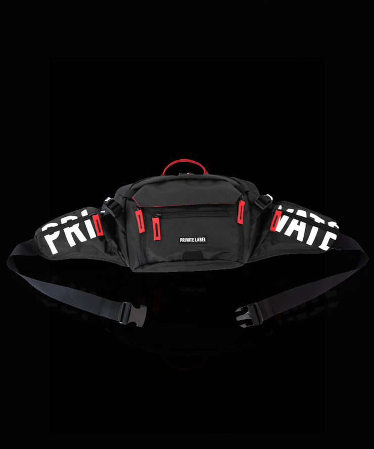 Black Waist/Sling Bag by Private Label NYC, Available at Vault.PH, The Official Online Retail Partner in the Philippines