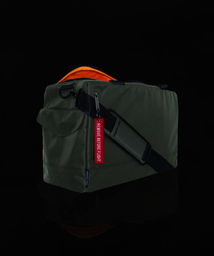 Changing the Way You Travel with Private Label BOMBR Green Duffle. Available at Vault.PH, The Official Online Retail Partner in The Philippines.
