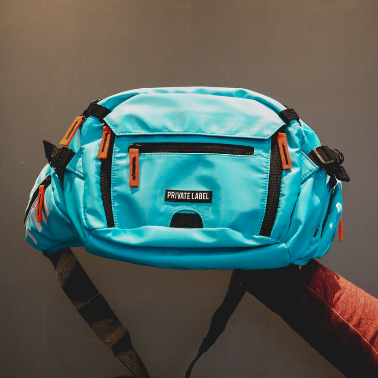 Aqua (TEAL) Waist/Sling Bag by Private Label NYC, Available at Vault.PH, The Official Online Retail Partner in the Philippines