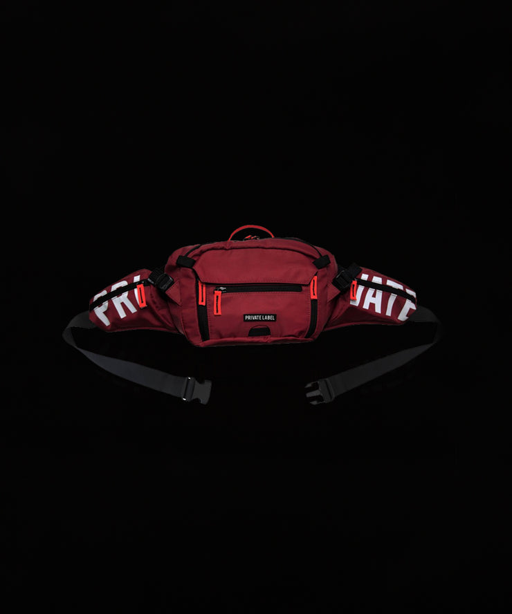 Maroon (Burgundy) Waist/Sling Bag by Private Label NYC, Available at Vault.PH, The Official Online Retail Partner in the Philippines