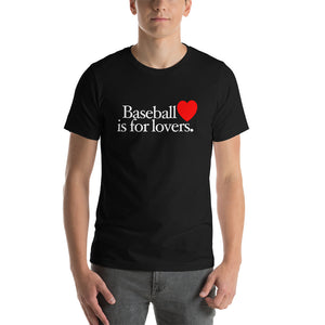 Baseball is for Lovers, Male - Black