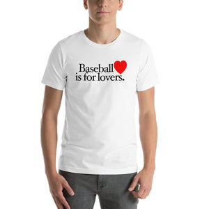 Baseball is for Lovers, Male - White