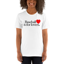 Load image into Gallery viewer, Baseball is for Lovers, Female 2 - White