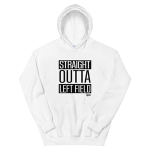 Straight Outta Left Field Hoodie - White