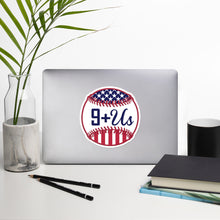 Load image into Gallery viewer, Baseball America Sticker - Blue
