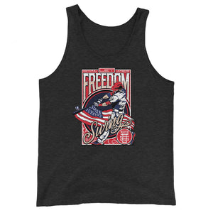 Freedom Swing Tank - Charcoal-Black Triblend
