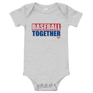 Baseball Together Arlington Onesie - Away