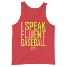 Load image into Gallery viewer, Fluent Baseball Tank - Red Triblend