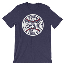 Load image into Gallery viewer, Heroes Get Remembered - Heather Midnight Navy