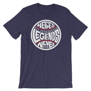 Heroes Get Remembered - Heather Midnight Navy