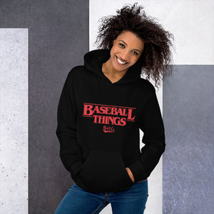 Baseball Things Hoodie - Model Women's