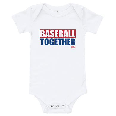Baseball Together Arlington Onesie - Home