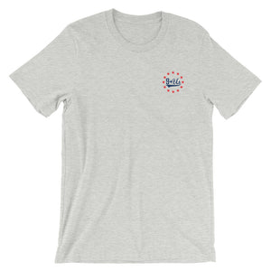 Lady Liberty Front - Athletic Heather