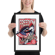Load image into Gallery viewer, Freedom Swing Framed Poster - 12 x 18