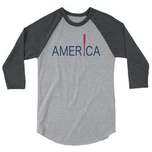 Load image into Gallery viewer, 'Merica Raglan - Heather Grey/Heather Charcoal