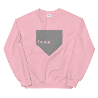 home. Sweatshirt - Pink