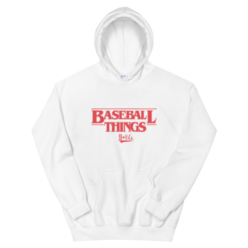 Baseball Things Hoodie - White
