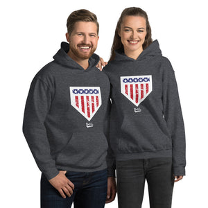 Home of the Brave Hoodie - Models