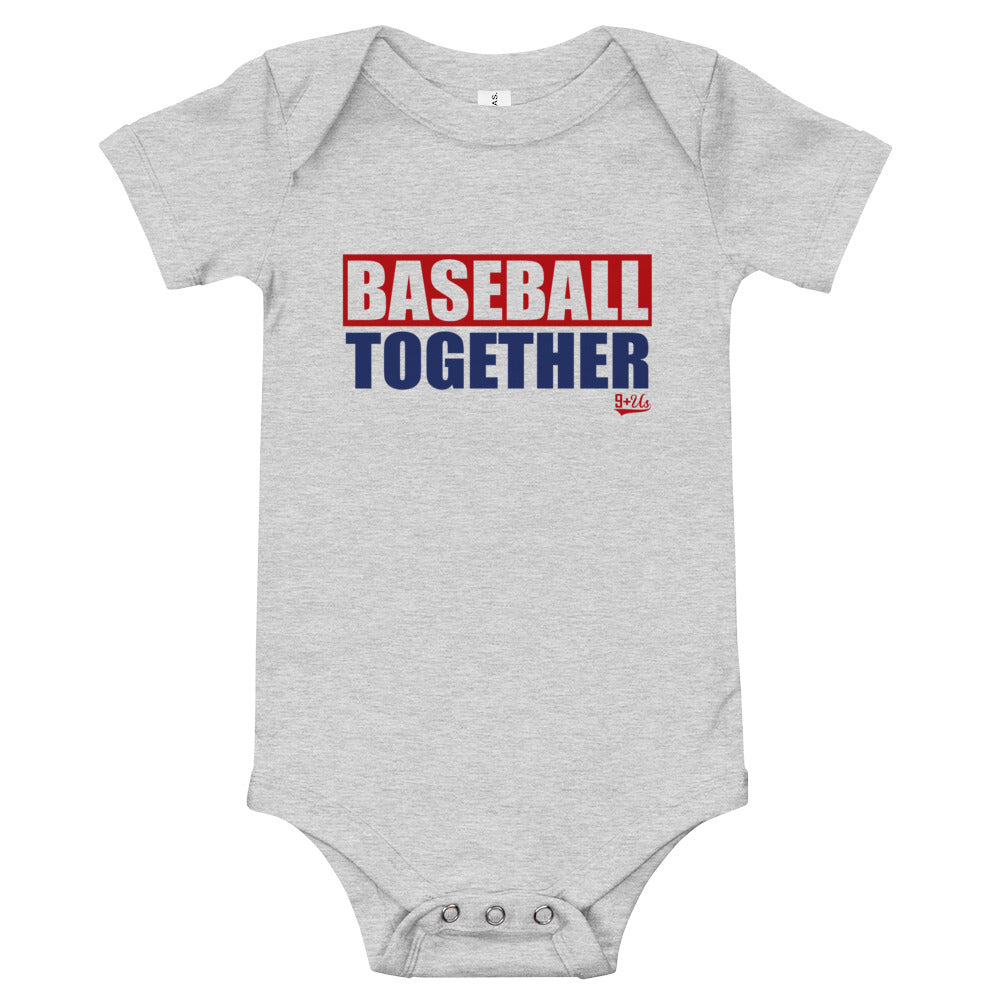 Washington Onesie Baseball Together - Away