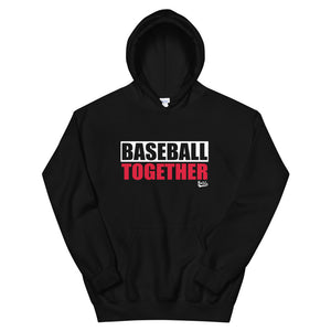 Official Baseball Together Podcast Hoodie - Black